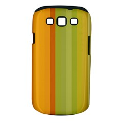 Colorful Citrus Colors Striped Background Wallpaper Samsung Galaxy S Iii Classic Hardshell Case (pc+silicone)