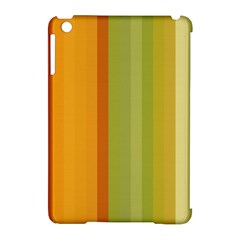 Colorful Citrus Colors Striped Background Wallpaper Apple iPad Mini Hardshell Case (Compatible with Smart Cover)