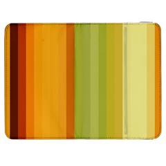Colorful Citrus Colors Striped Background Wallpaper Samsung Galaxy Tab 7  P1000 Flip Case