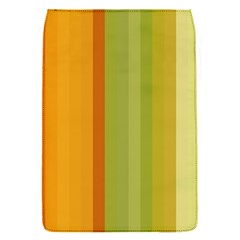 Colorful Citrus Colors Striped Background Wallpaper Flap Covers (S)