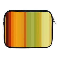 Colorful Citrus Colors Striped Background Wallpaper Apple iPad 2/3/4 Zipper Cases