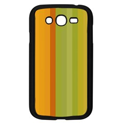 Colorful Citrus Colors Striped Background Wallpaper Samsung Galaxy Grand DUOS I9082 Case (Black)