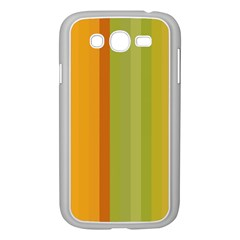 Colorful Citrus Colors Striped Background Wallpaper Samsung Galaxy Grand Duos I9082 Case (white)