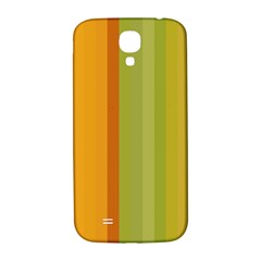 Colorful Citrus Colors Striped Background Wallpaper Samsung Galaxy S4 I9500/I9505  Hardshell Back Case