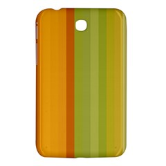 Colorful Citrus Colors Striped Background Wallpaper Samsung Galaxy Tab 3 (7 ) P3200 Hardshell Case