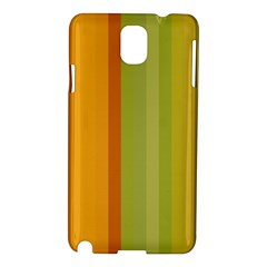 Colorful Citrus Colors Striped Background Wallpaper Samsung Galaxy Note 3 N9005 Hardshell Case