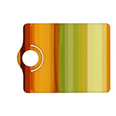 Colorful Citrus Colors Striped Background Wallpaper Kindle Fire HD (2013) Flip 360 Case