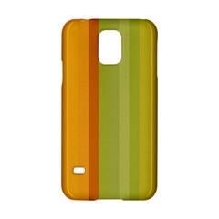 Colorful Citrus Colors Striped Background Wallpaper Samsung Galaxy S5 Hardshell Case