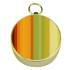 Colorful Citrus Colors Striped Background Wallpaper Gold Compasses