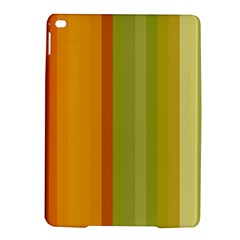 Colorful Citrus Colors Striped Background Wallpaper iPad Air 2 Hardshell Cases