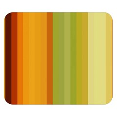Colorful Citrus Colors Striped Background Wallpaper Double Sided Flano Blanket (Small)
