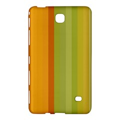 Colorful Citrus Colors Striped Background Wallpaper Samsung Galaxy Tab 4 (7 ) Hardshell Case
