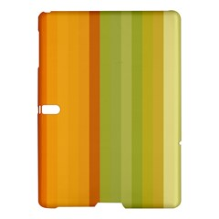Colorful Citrus Colors Striped Background Wallpaper Samsung Galaxy Tab S (10 5 ) Hardshell Case