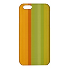 Colorful Citrus Colors Striped Background Wallpaper iPhone 6/6S TPU Case