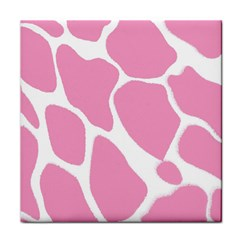 Baby Pink Girl Pattern Colorful Background Tile Coasters
