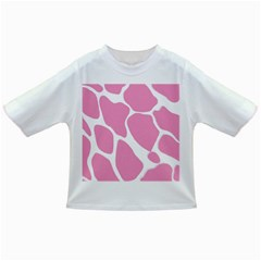 Baby Pink Girl Pattern Colorful Background Infant/toddler T Shirts