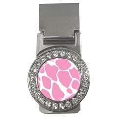 Baby Pink Girl Pattern Colorful Background Money Clips (cz)