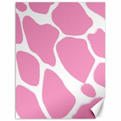Baby Pink Girl Pattern Colorful Background Canvas 12  X 16