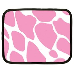 Baby Pink Girl Pattern Colorful Background Netbook Case (xxl)