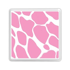 Baby Pink Girl Pattern Colorful Background Memory Card Reader (square)