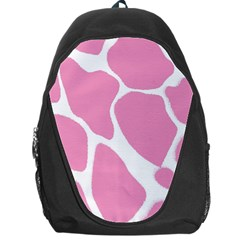 Baby Pink Girl Pattern Colorful Background Backpack Bag
