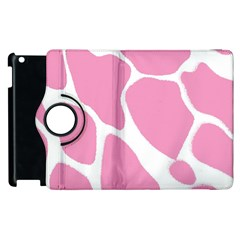 Baby Pink Girl Pattern Colorful Background Apple iPad 2 Flip 360 Case