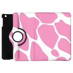 Baby Pink Girl Pattern Colorful Background Apple iPad Mini Flip 360 Case