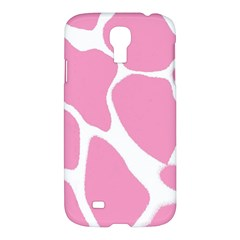 Baby Pink Girl Pattern Colorful Background Samsung Galaxy S4 I9500/I9505 Hardshell Case