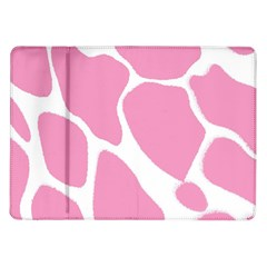 Baby Pink Girl Pattern Colorful Background Samsung Galaxy Tab 10 1  P7500 Flip Case
