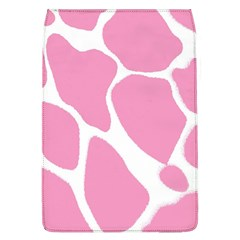 Baby Pink Girl Pattern Colorful Background Flap Covers (L)