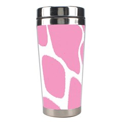Baby Pink Girl Pattern Colorful Background Stainless Steel Travel Tumblers