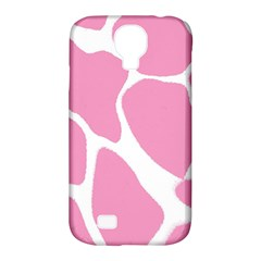 Baby Pink Girl Pattern Colorful Background Samsung Galaxy S4 Classic Hardshell Case (PC+Silicone)