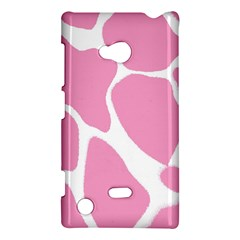 Baby Pink Girl Pattern Colorful Background Nokia Lumia 720