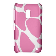 Baby Pink Girl Pattern Colorful Background Nokia Lumia 620