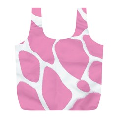 Baby Pink Girl Pattern Colorful Background Full Print Recycle Bags (l)