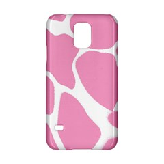 Baby Pink Girl Pattern Colorful Background Samsung Galaxy S5 Hardshell Case