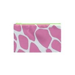 Baby Pink Girl Pattern Colorful Background Cosmetic Bag (xs)