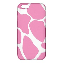 Baby Pink Girl Pattern Colorful Background iPhone 6/6S TPU Case
