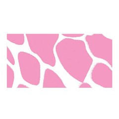 Baby Pink Girl Pattern Colorful Background Satin Wrap