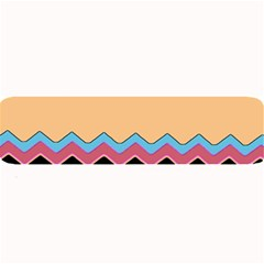 Chevrons Patterns Colorful Stripes Background Art Digital Large Bar Mats