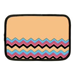 Chevrons Patterns Colorful Stripes Background Art Digital Netbook Case (medium)