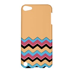 Chevrons Patterns Colorful Stripes Background Art Digital Apple iPod Touch 5 Hardshell Case