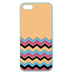 Chevrons Patterns Colorful Stripes Background Art Digital Apple Seamless iPhone 5 Case (Color)