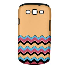 Chevrons Patterns Colorful Stripes Background Art Digital Samsung Galaxy S Iii Classic Hardshell Case (pc+silicone)