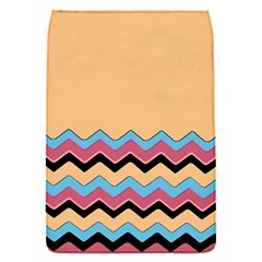 Chevrons Patterns Colorful Stripes Background Art Digital Flap Covers (S)