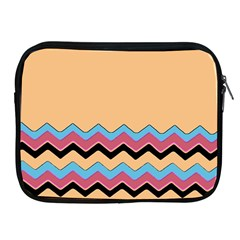 Chevrons Patterns Colorful Stripes Background Art Digital Apple Ipad 2/3/4 Zipper Cases