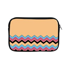 Chevrons Patterns Colorful Stripes Background Art Digital Apple iPad Mini Zipper Cases