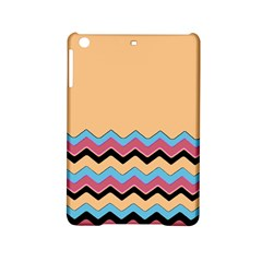 Chevrons Patterns Colorful Stripes Background Art Digital iPad Mini 2 Hardshell Cases