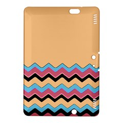 Chevrons Patterns Colorful Stripes Background Art Digital Kindle Fire Hdx 8 9  Hardshell Case