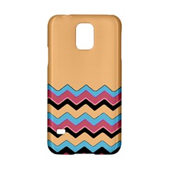 Chevrons Patterns Colorful Stripes Background Art Digital Samsung Galaxy S5 Hardshell Case